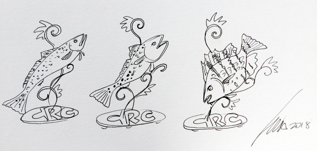 CRC We Care! We Share! | Trophy Sketches